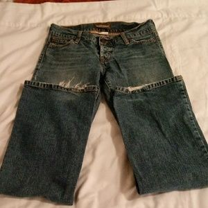 Hollister boot cut jeans size 0 short